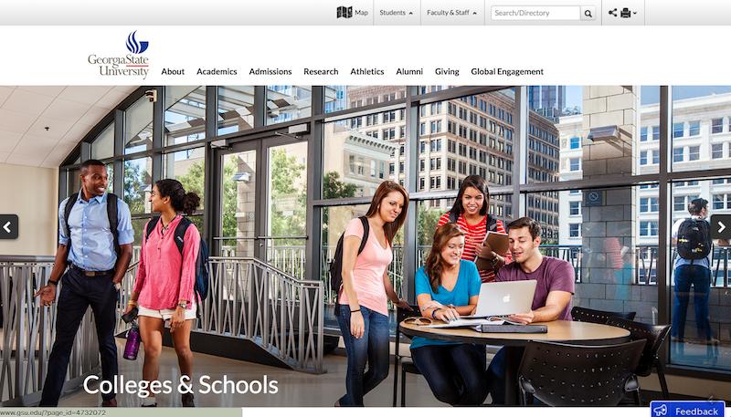Georgia State University Website