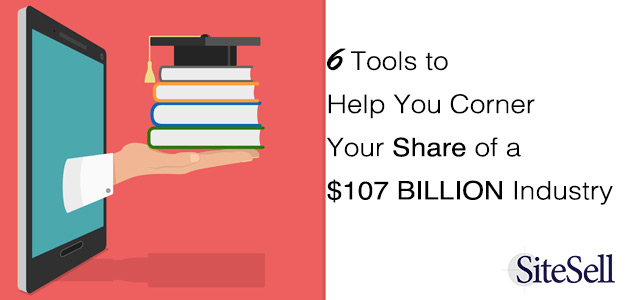 6 Tools To Help You Corner Your Share of a $107 Billion Industry
