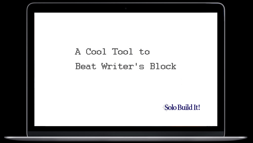 A Cool Tool to Beat Writer's Block
