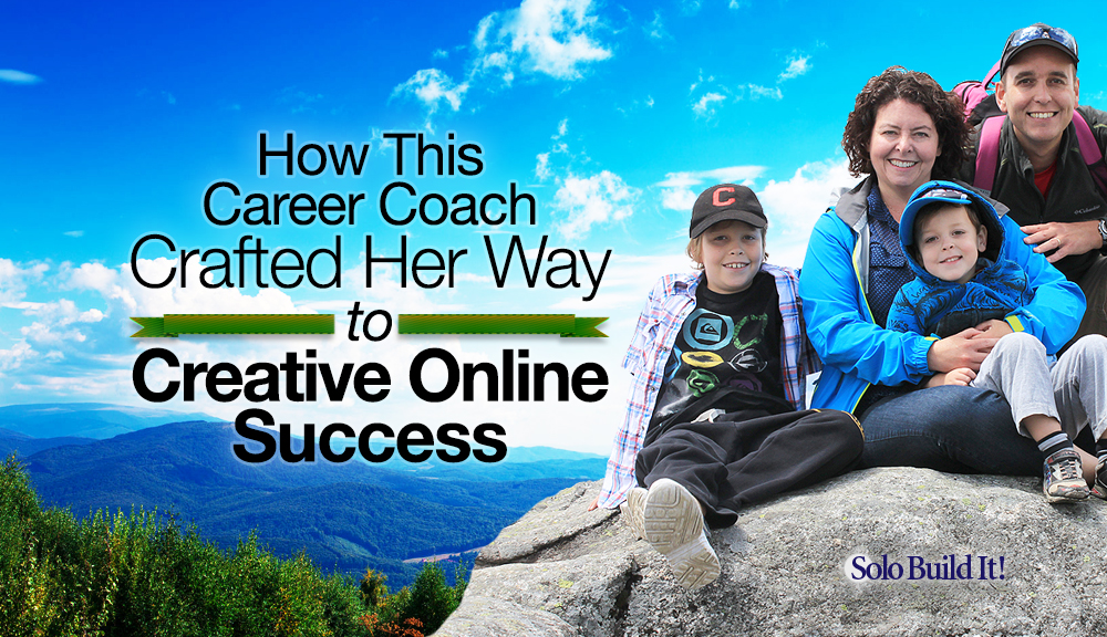How This Career Coach Crafted Her Way To Creative Online Success