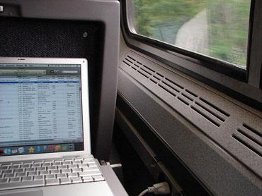 Laptop Forgotten on Train