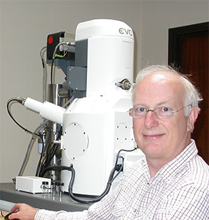 Nick Working with an Electron Microscope