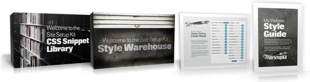 Site Setup Kit Bonuses