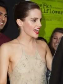 Emma Watson muestra de más con sugerente vestido - Fotos
