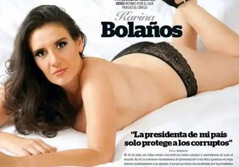 Foto: Viceministra destituida posa sin ropa