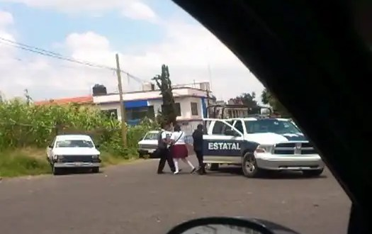 Video: Policías extorsionan a un estudiante en Morelia