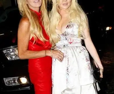 Lindsay Lohan a las piñas con su madre