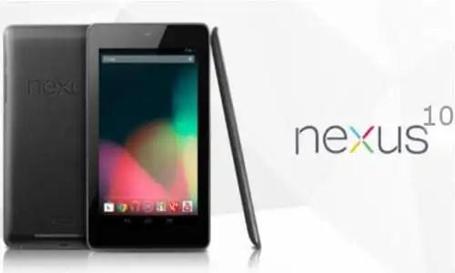 Nexus 10 de Google: Fotos, características y precios