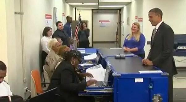 Video: Barack Obama emite su voto anticipado en Chicago