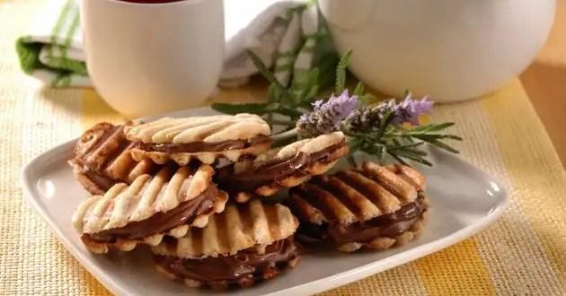 Receta: Las galletitas waffles más ricas para los niños