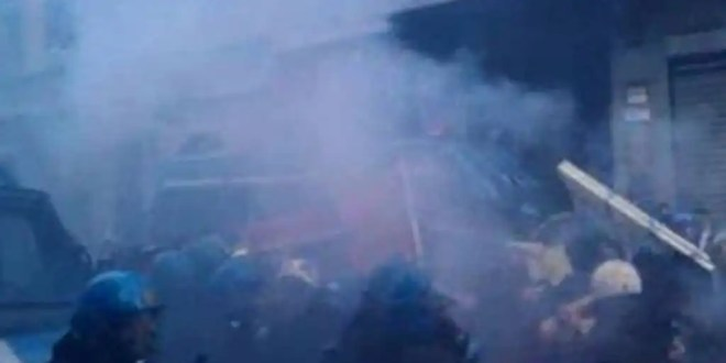 Disturbios en protesta europea contra los ajustes presupuestarios - Video