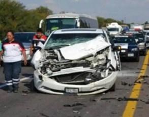 Leticia Calderón sufre accidente vial; sus hijos en grave estado de salu