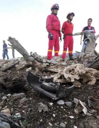 Fotos: El avión en que viajaba Jenni Rivera y sus pertenencias