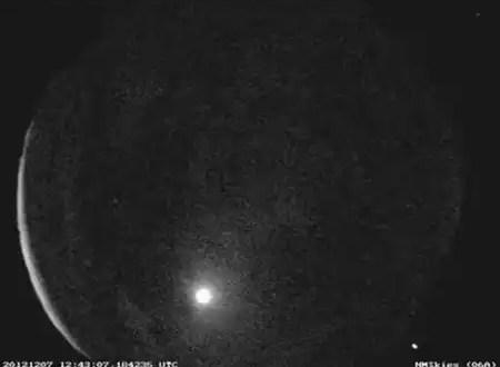 Video: Bola de fuego atraviesa el cielo de Texas