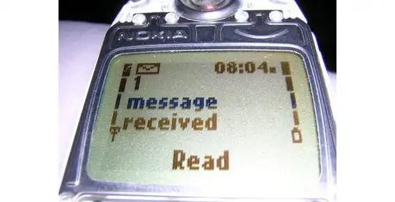 ¿Qué decía el primer sms de la historia?