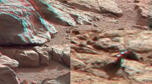 Curiosity halla otro objeto de metal en Marte