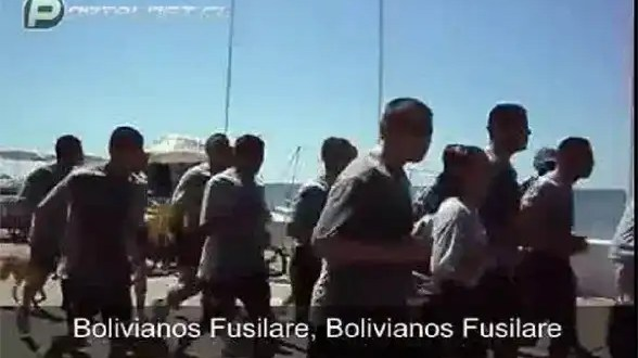 Video terrible: los cantos xenófobos de la Armada chilena