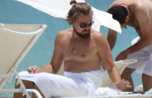 Leonardo DiCaprio desaliñado y con sobrepeso - Fotos