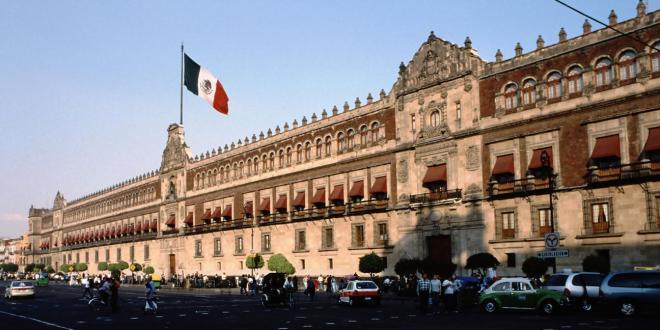 Palacio Nacional, sede del Gobierno Federal