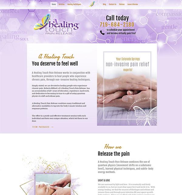 A Healing Touch Web Design