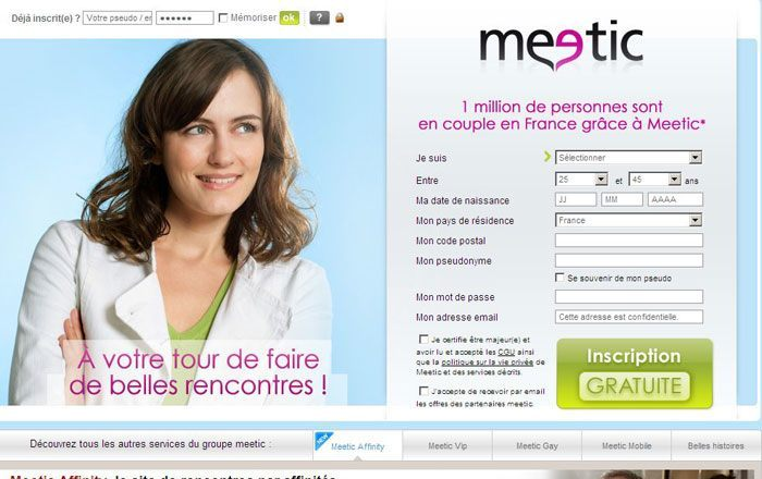 Meetic website