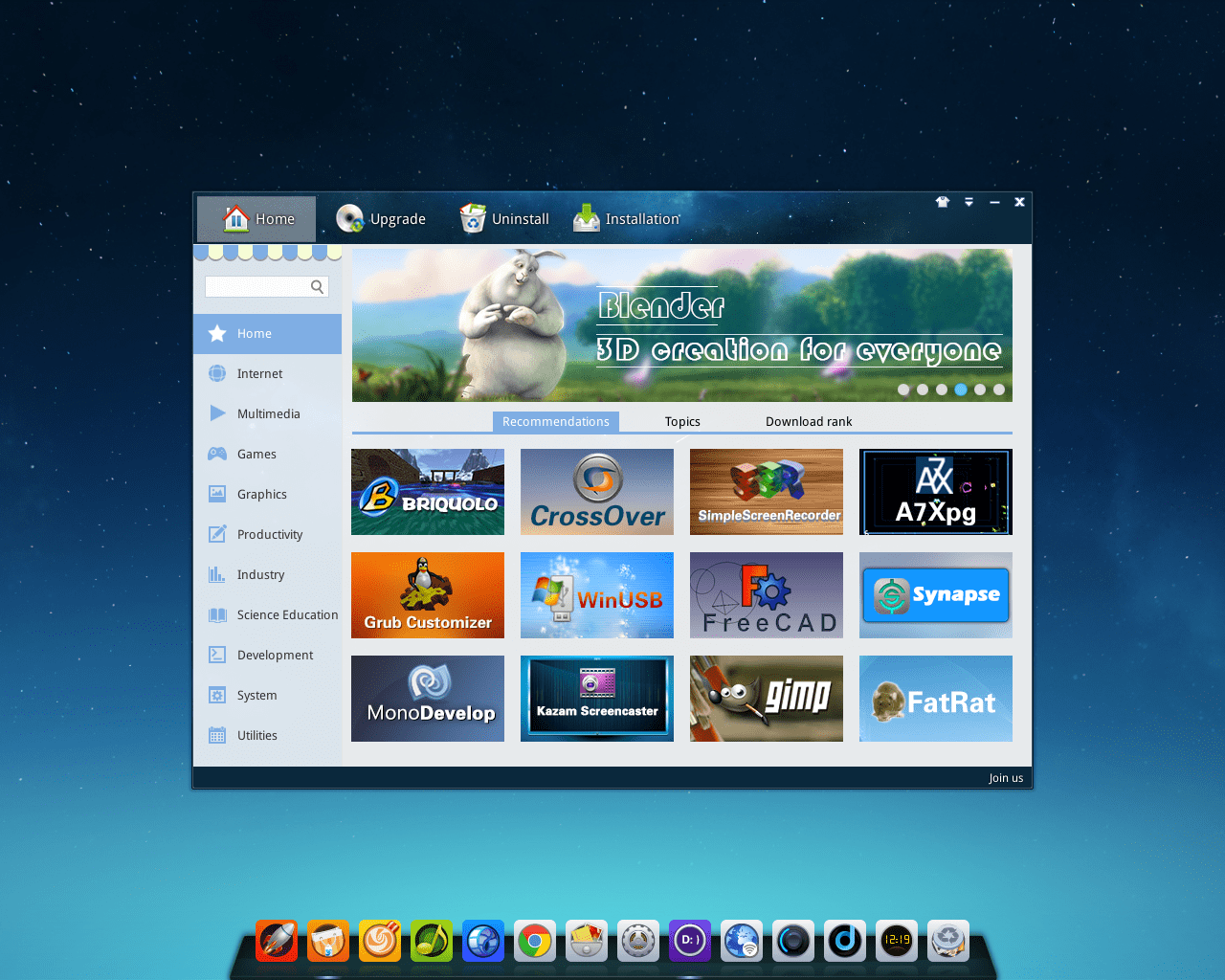 deepin 15.10 es una de las más hermosas y modernas distribuciones de Linux que es comparable a Windows y Mac OS