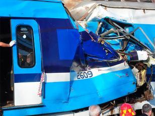 Choque de trenes en Castelar: liberaron a los dos maquinistas