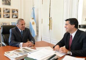 Capitanich se reunió con el gobernador de Neuquén