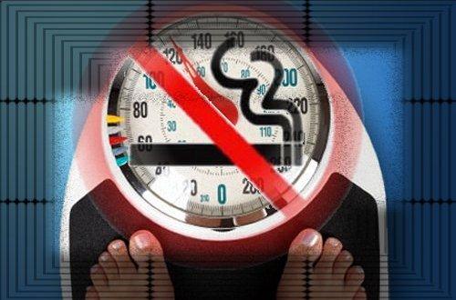 ¿Dejar de fumar engorda?