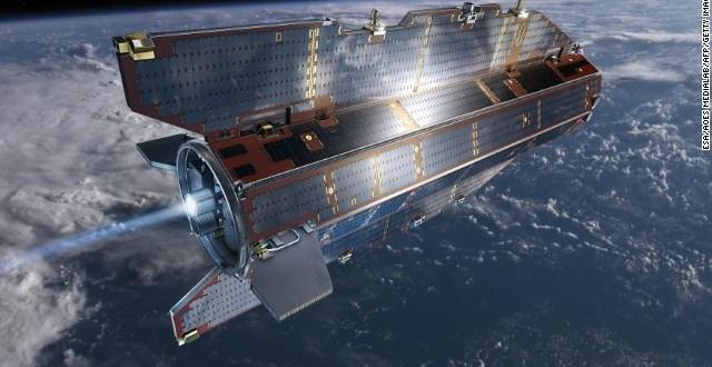Antiguo satélite caerá en la Tierra en cuestión de horas