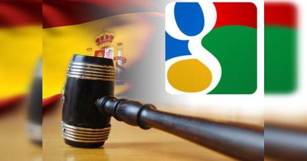 España demanda a Google