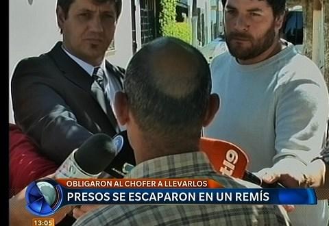 Recapturaron a preso que se fugó de Olmos en un remis