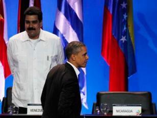Maduro repudia los dichos de Obama y los estudiantes llaman a marchar por la paz