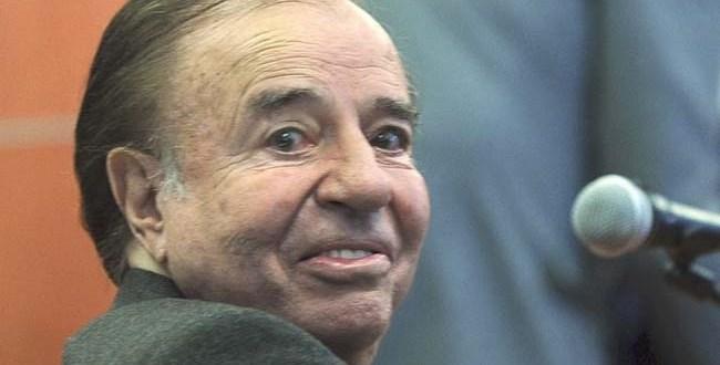 Sobreseyeron a Carlos Menem por la voladura de la fábrica militar de Río Tercero
