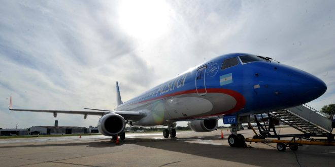 Aerolíneas Argentinas vuela a todas las provincias