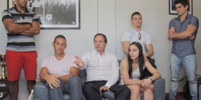 Despedida oficial para deportistas que viajan a los ODESUR