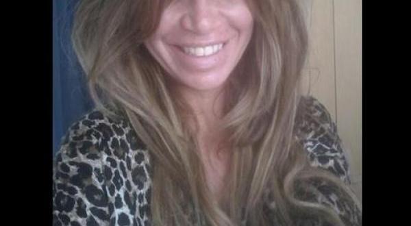 Foto: Florencia Peña sin maquillaje y recién levantada