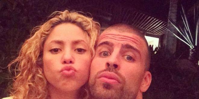Shakira y Sasha salen del hospital