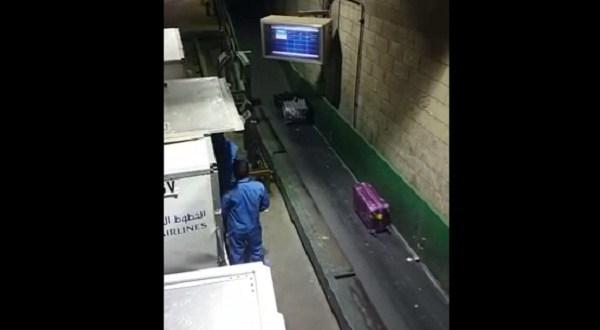 Video: Así tratan tu maleta en los aeropuertos