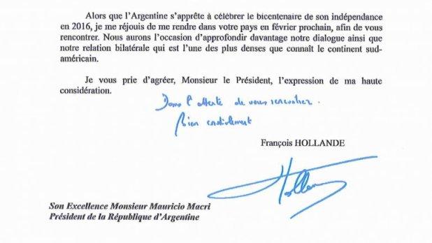 El presidente de Francia vendrá a Argentina en febrero y se reunirá con Macri