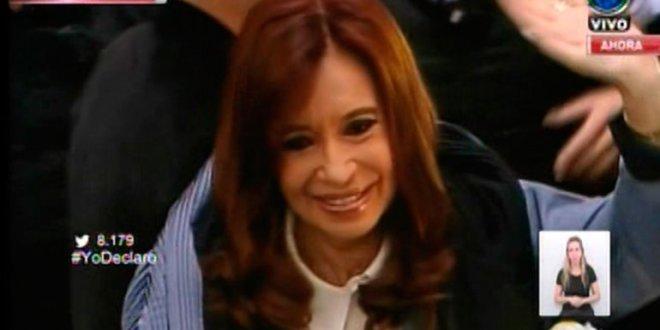 Cristina Kirchner cara a cara con Bonadio