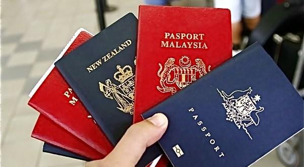 ¿Qué significa el color de cada pasaporte?