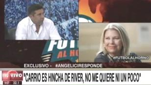 Angelici: Carrió debe ser hincha de River, no me quiere nada y me aburrió con sus denuncias