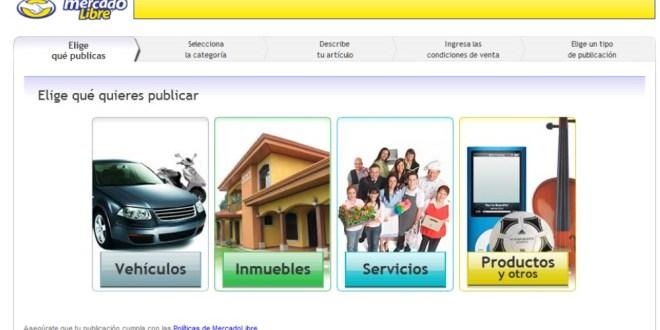Nuevos costos para publicar vehículos e inmuebles en Mercado Libre