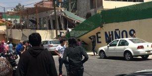 Terremoto en México: al menos 32 niños murieron tras derrumbarse una escuela