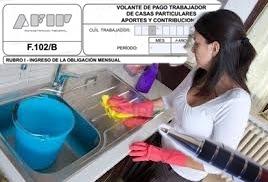 La AFIP advirtió a 650.000 contribuyentes para que regularicen a su personal doméstico
