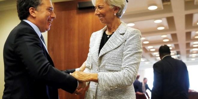 El Gobierno acuerda con el FMI una ampliación del préstamo de hasta  u$s 5.000 millones