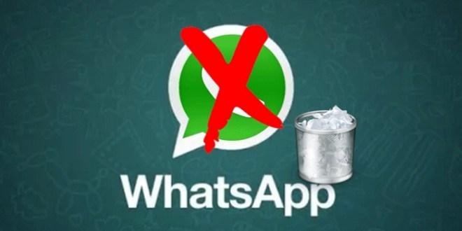 WhatsApp te puede cerrar para siempre tu cuenta por estos motivos :