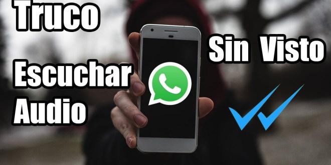 ¿Cómo hacer para escuchar un audio de Whatsapp sin que se entere el que te lo envió?