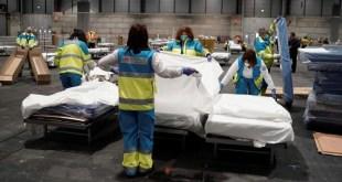 Coronavirus España: Record, 769 muertos en sólo 24 horas y ya acumula 4.858 víctimas fatales